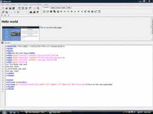 Alleycode Free html editor