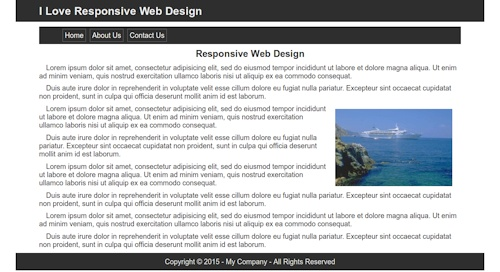 Pleasant Building The Web Page Structure In Html5 Lesson 1 Largest Home Design Picture Inspirations Pitcheantrous