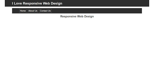 web page in browser